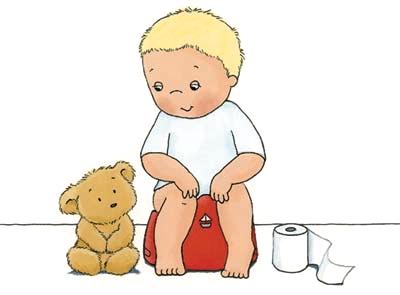 Enseña a tu hijo a dejar los pañales! Control Potty Training